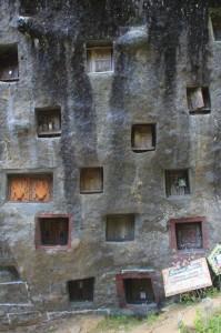 the rock of Lokomata, full of mausoleums