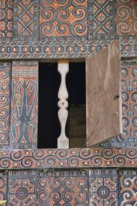 window of a Tana Toraja tongkonan