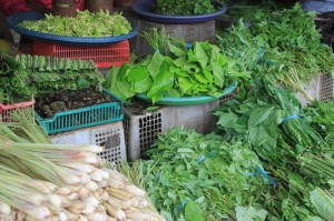 greens in the market