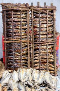 or just a rack of grilled fish