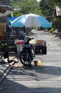mobile shop along the board walk