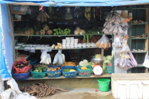 well-stocked shop in Melak