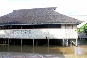 the meeting hall in Tering Lama