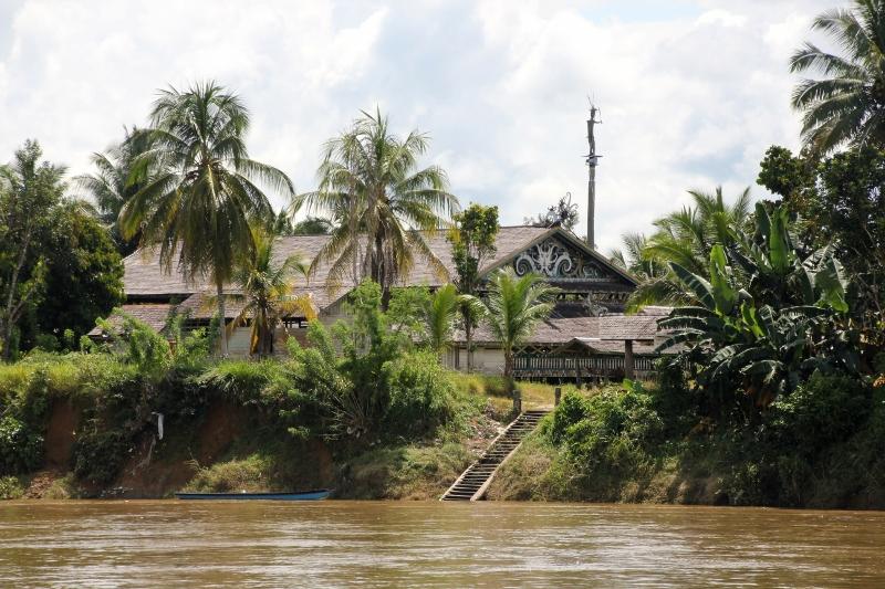 upstream meeting hall of Datah Bilang