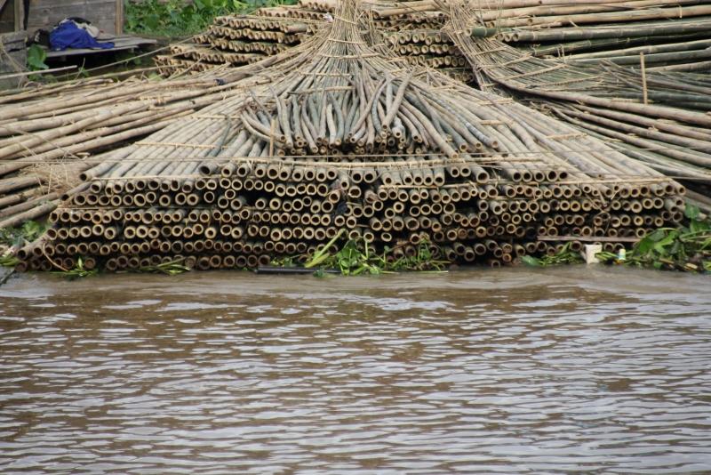 bamboo is big business, too, in Banjamarsin