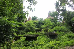 tombs outside Kampung Praijiang