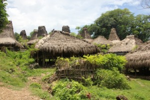 the back of kampung Tokahale