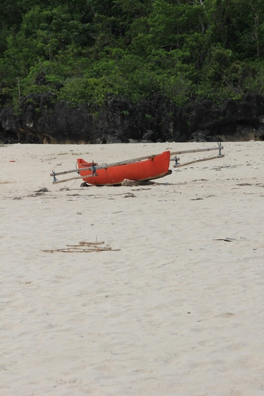another canoe, red being the colour of choice