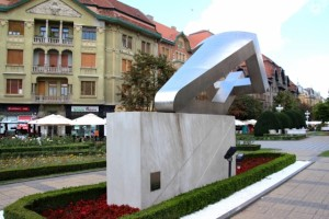 monument for the people killed during the 1989 uprising in Timisoara