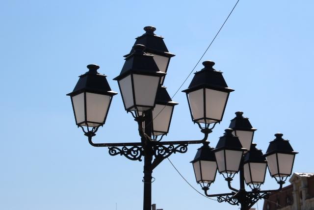 lamps at Piata Unirii