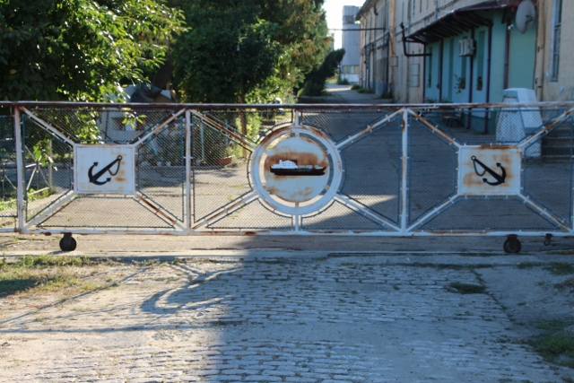 the Severin shipyard most likely doesn't build any ships anymore, but its gate is priceless
