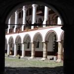 entrance to the Rila Monastery