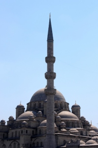 one of the many mosques along the Halic