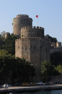 castle along the Bosphorus