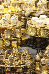 tea and coffee cups, Grand Bazaar