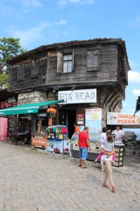 Sozopol has quite some attractive, authentic-looking wooden houses
