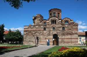 one of the Byzantine churches in Nesebar