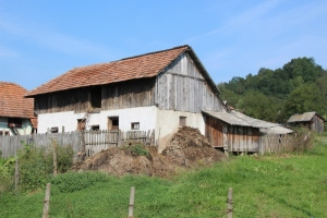 house in the Wallachia countryside