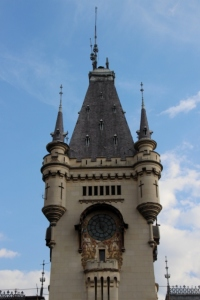 the tower of the Palace of Culture, Iasi's signature building