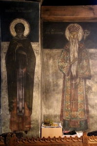 frescos in a Suceava church