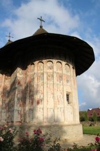 the church of Humor Monastery