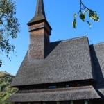 the church in Ieud, Maramures