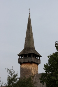 the spire of the Sat Sugatag church