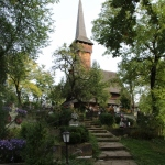 the Desesti wooden church in Maramures
