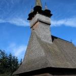 the Budesti church in Maramures