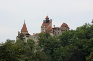 Bran Castle, the real thing: towers and turrets