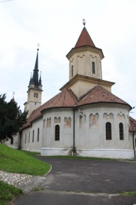 the Saint Nocolas church, with a clearly more orthodox origin