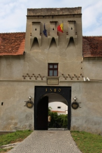 the entrance to the Brasov Citadel