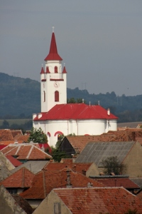 huge church, dominating one of the Saxon villages, rural settlements from the Middle Ages