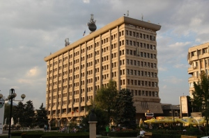 one of those vintage communist era buildings