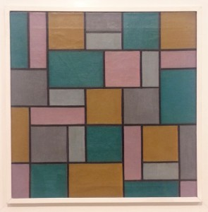 and another Van Doesburg, Composition XVII from 1919