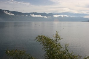 the lake at Takengon, early morning