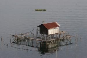 a fishing platform