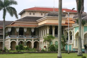 the Maimoon Palace, locally known as the Medan Palace, the residence of the old royals