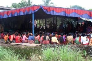 wedding ceremony near Medan