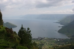 view of Lake Toba