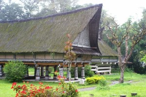 former Royal palace in Simalungun Batak style