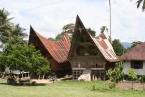 Ambarita village houses