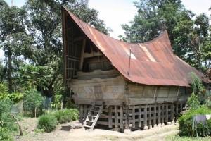 traditional house in Ambarita