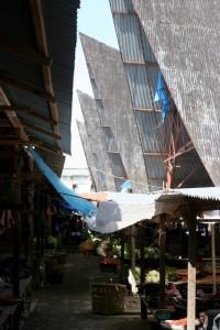 the market in Balige