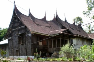 one of the houses in Sumgayang