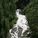 mountain stream in the jungle of Aceh Tenggara
