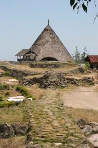 the Rumah Adat in Todo village