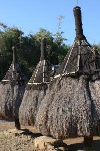 Ngadhus, umbrella like totems