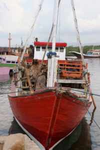fishing boat in Wufing