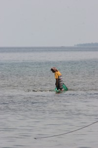 fisherman in Nanggaha